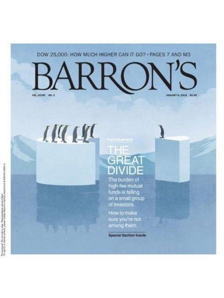 Download Barron's Magazine — January 8, 2018