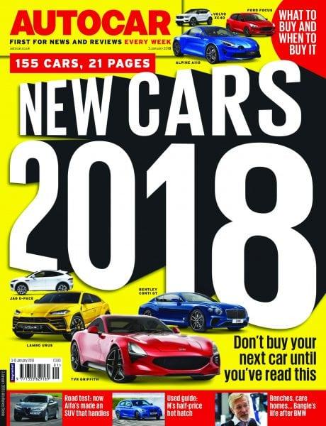 Download Autocar UK — 02 January 2018