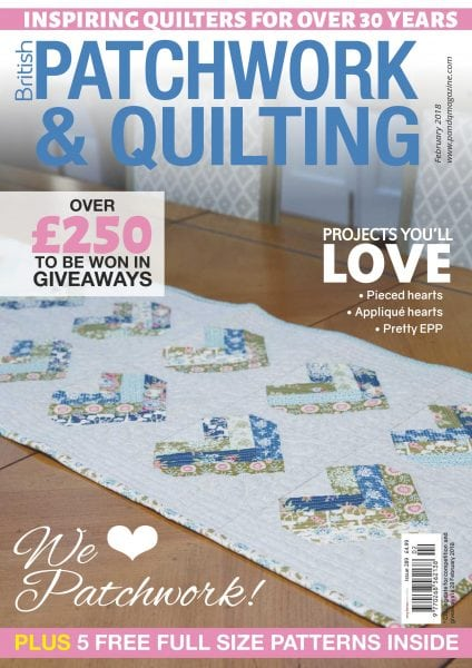 Download Patchwork & Quilting UK — February 2018