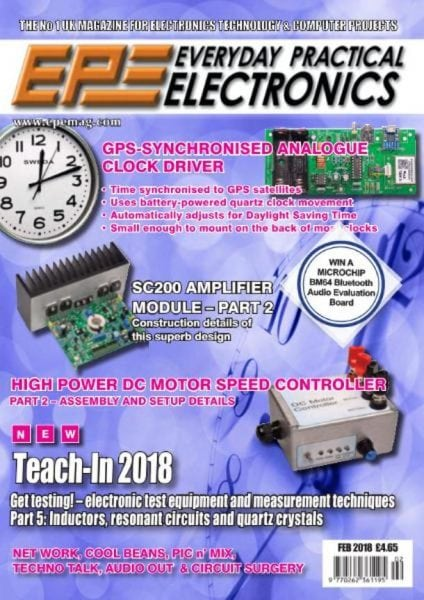 Download Everyday Practical Electronics — February 2018