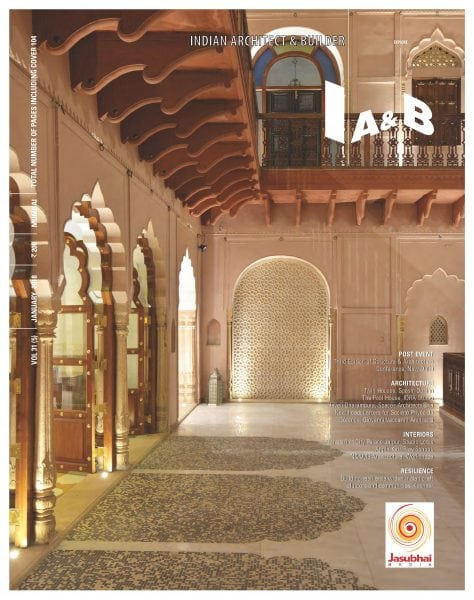 Download Indian Architect & Builder — January 2018
