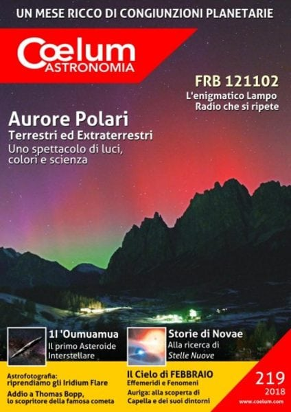 Download Coelum Astronomia — Numero 219 2018