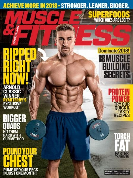 Download Muscle & Fitness Australia — February 2018