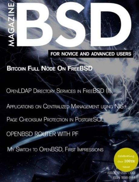 Download BSD Magazine — December 2017