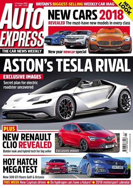 Download Auto Express — 04 January 2018