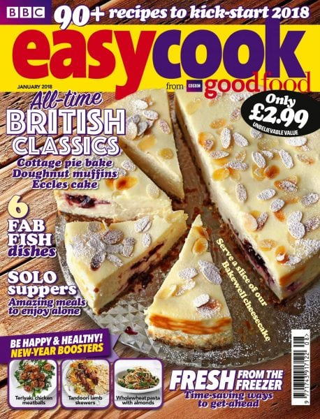 Download BBC Easy Cook UK — January 2018
