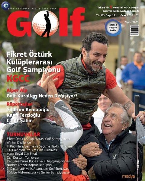 Download Türkiye'de ve Dünyada Golf — January 2018