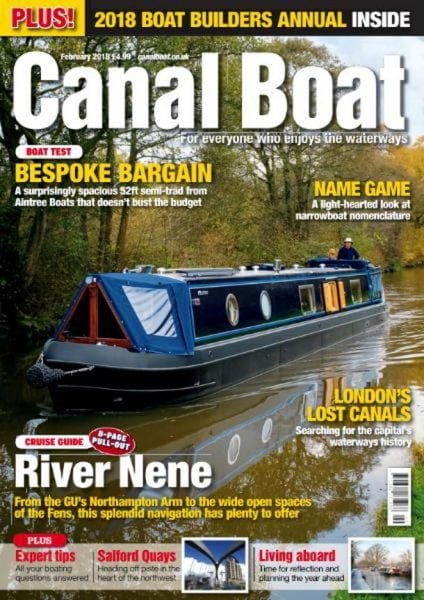 Download Canal Boat — February 2018