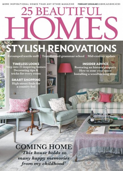 Download 25 Beautiful Homes — February 2018