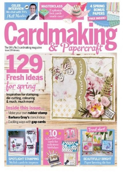 Download Cardmaking & Papercraft — February 2018