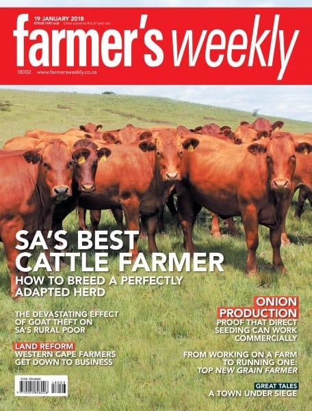 Download Farmer's Weekly — 19 January 2018