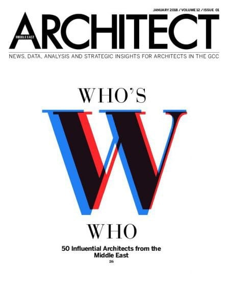Download Architect Middle East – January 2018