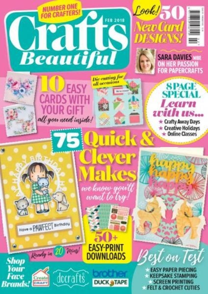 Download Crafts Beautiful — February 2018