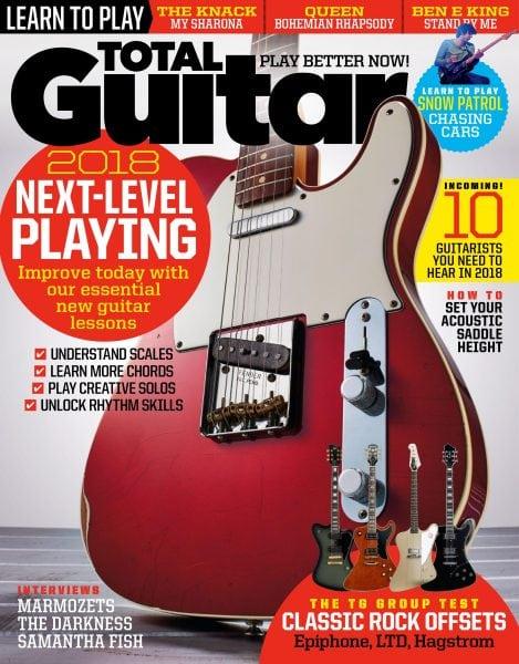 Download Total Guitar — February 2018