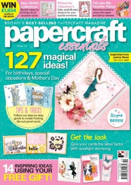 Download Papercraft Essentials — Issue 155 2018
