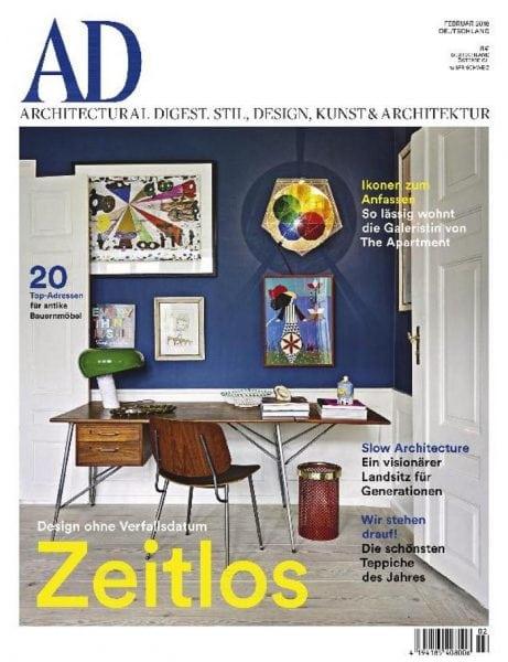 Download AD Architectural Digest Germany — Februar-März 2018
