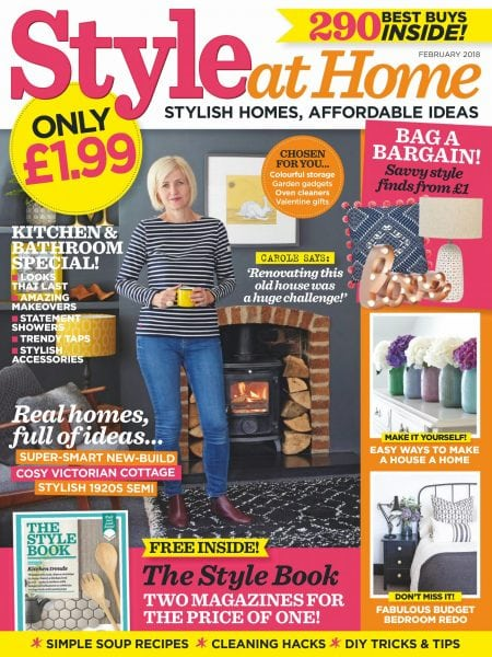 Download Style at Home UK — February 2018