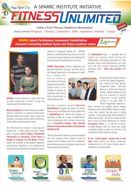 Download Fitness Unlimited India — January 2018