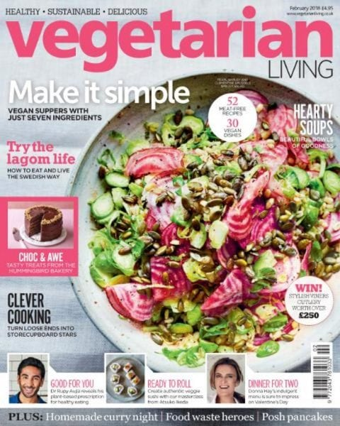 Download Vegetarian Living — February 2018