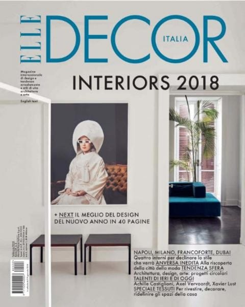Download Elle Decor Italia — Febbraio 2018