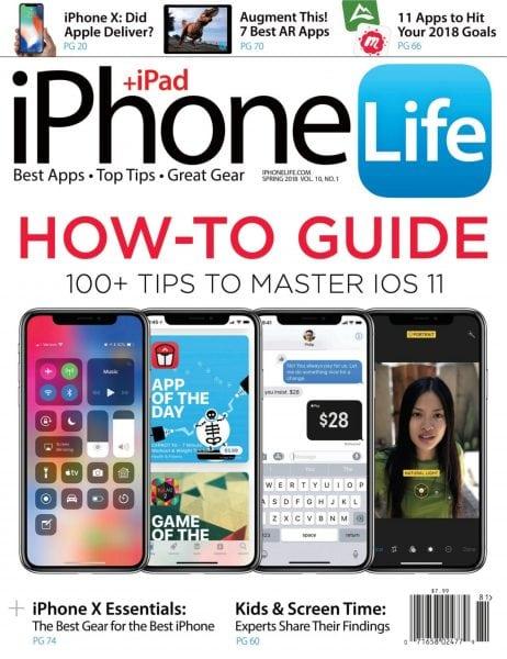 Download iPhone Life Magazine — December 29, 2017