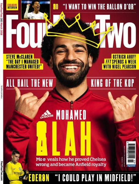 Download FourFourTwo UK — March 2018