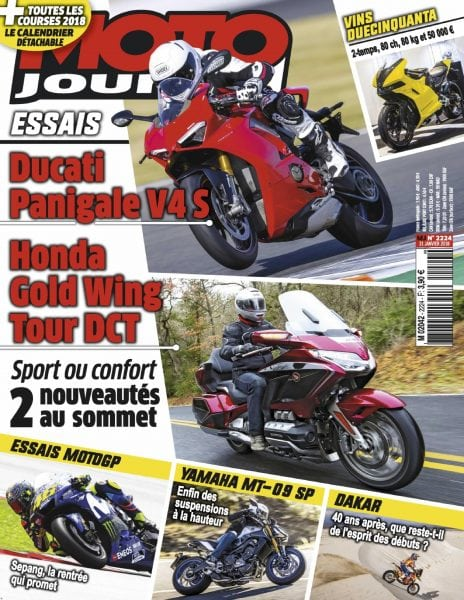 Download Moto Journal — 31 janvier 2018
