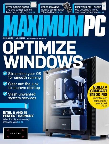 Download Maximum PC — March 2018
