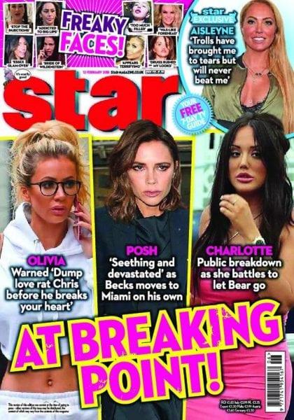 Download Star Magazine UK – 12 February 2018