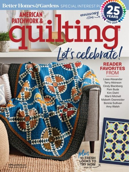 Download American Patchwork & Quilting — January 25, 2018