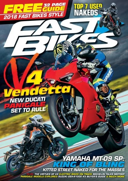 Download Fast Bikes UK — March 2018
