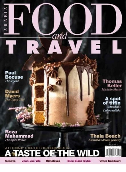 Download Food and Travel Arabia — February 2018