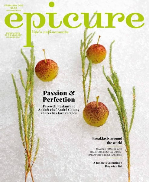 Download epicure Singapore — February 2018