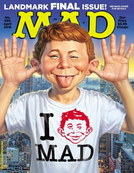 Download MAD Magazine — May 2018