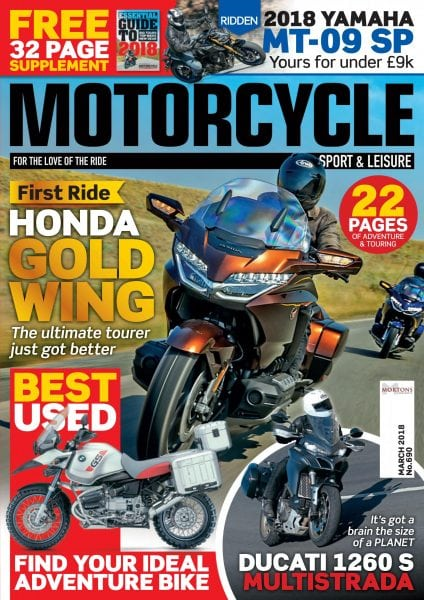Download Motorcycle Sport & Leisure — March 2018