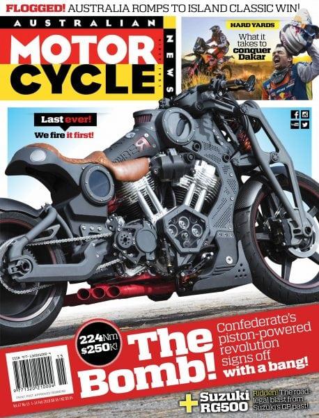 Download Australian Motorcycle News — January 30, 2018
