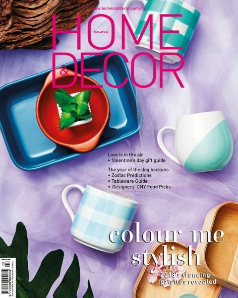 Download Home & Decor Malaysia — February 2018