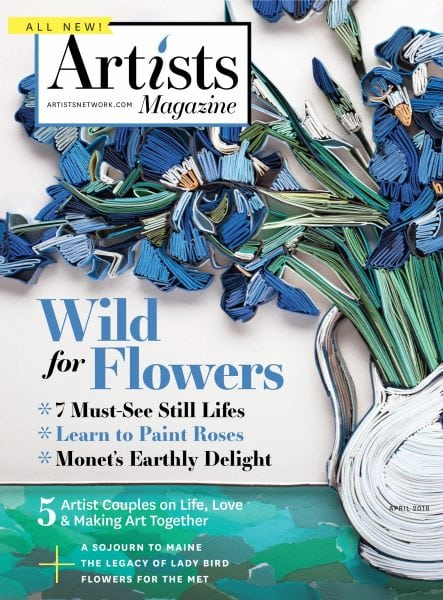 American Auto Finance >> The Artist's Magazine — April 2018 PDF download free