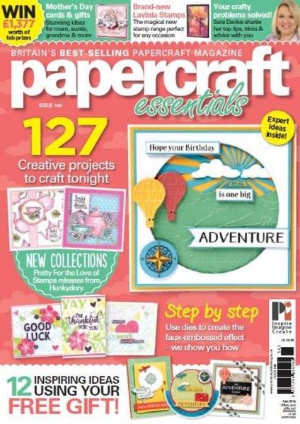 Download Papercraft Essentials — Issue 156 2018