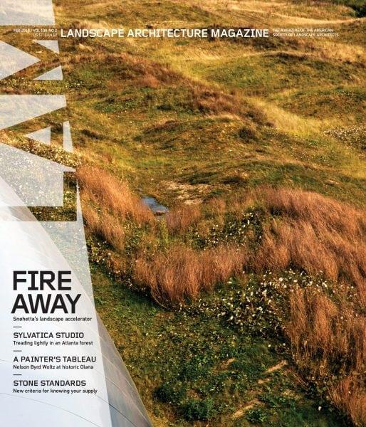 Download Landscape Architecture Magazine USA — February 2018
