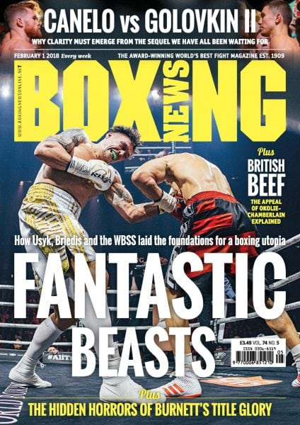 Download Boxing News — February 01, 2018