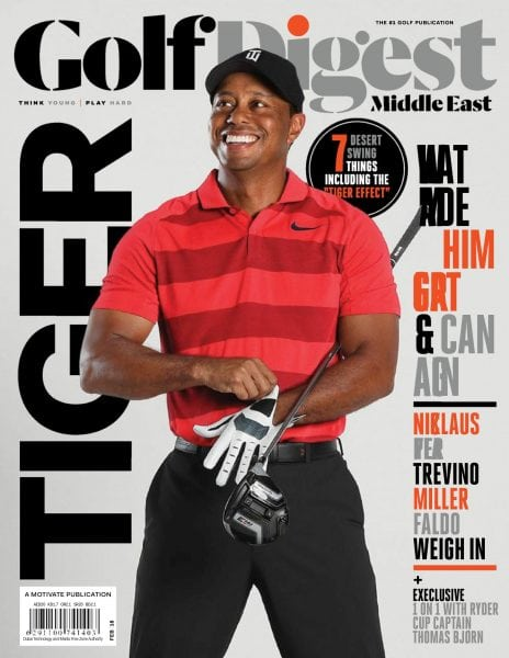 Download Golf Digest Middle East — February 2018