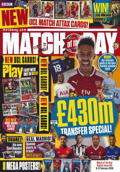 Download Match of the Day — 06 February 2018