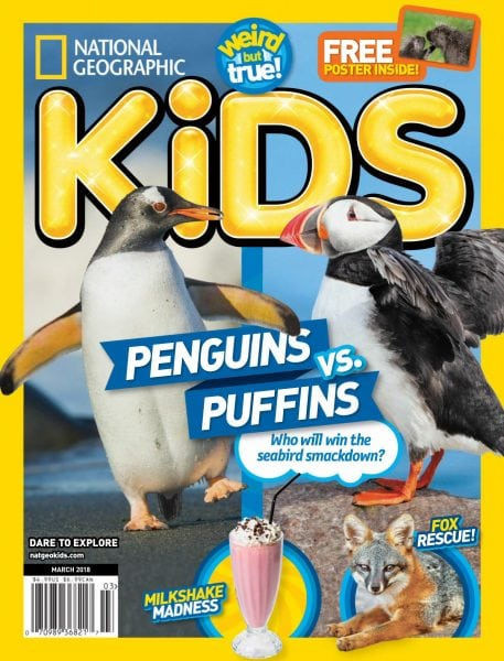 Download National Geographic Kids USA — March 2018