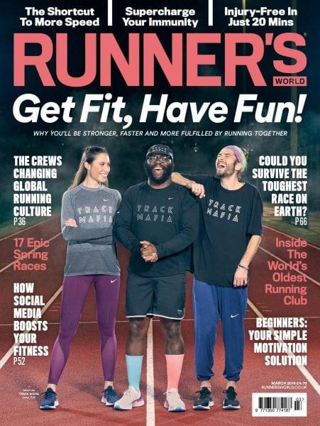 Download Runner's World UK — March 2018