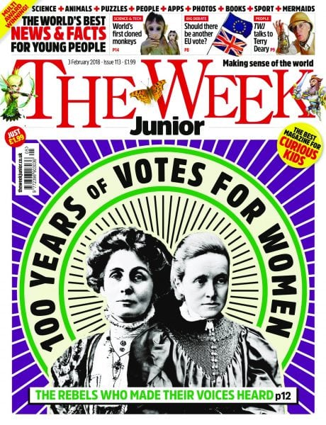 Download The Week Junior UK — 01 February 2018
