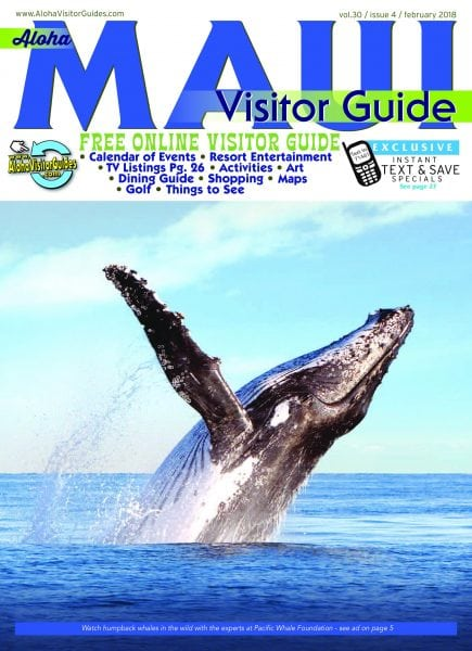 aloha maui visitor guide february 2018 pdf download free. Black Bedroom Furniture Sets. Home Design Ideas