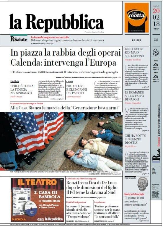 Download la Repubblica - 20.02.2018