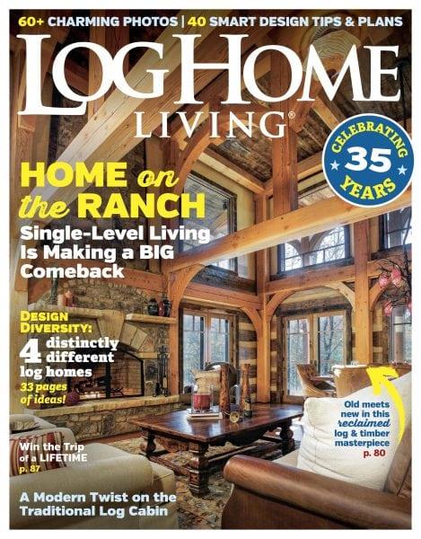 Download Log Home Living — February 2018