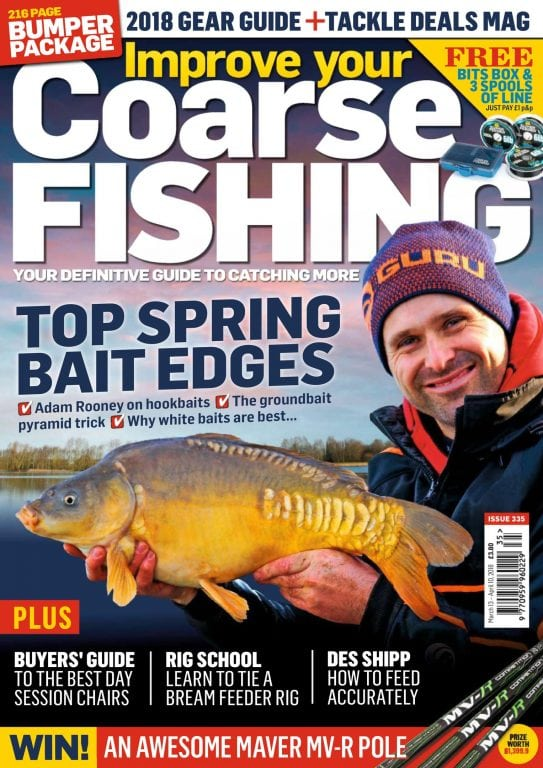 Improve your coarse fishing april 2018 pdf download free for Free fishing magazines